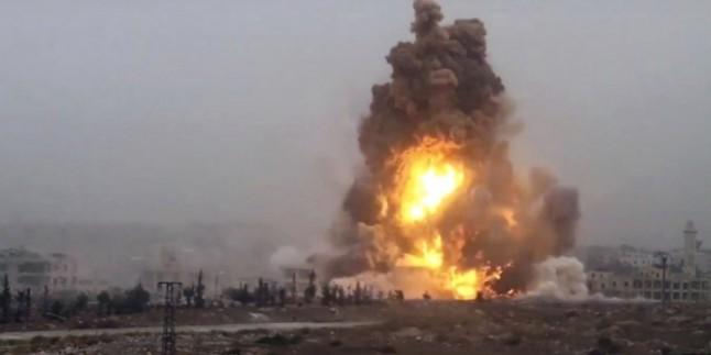 Deyruz'Zur'da mayın patladı: 40 ölü ve yaralı