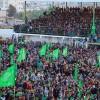 Hamas'ın Gazze'deki Kuruluş Etkinliğine Katılan On Binler Direnişe Biatını Yeniledi