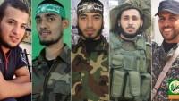 El-Kassam Tugayları Dün Şehit Olan 5 Mensubu İçin Taziye Mesajı Yayınladı