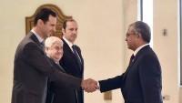 Suriye Cumhurbaşkanı Esad, Pakistan Büyükelçisinin güven mektubunu aldı