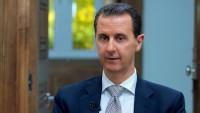 Esad: Terörizmin Suriye'ye karşı savaşı Suriye halkının iradesini kıramamıştır