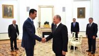 Suriye cumhurbaşkanı Beşşar Esad, Rusya'yı ziyaret etti
