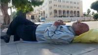 İsrail Zindanlarında Bulunan Ürdünlü En Küçük Esirin Babası Amman'da Açlık Grevine Başladı