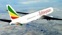 Etiyopya Hava Yollarına ait Boeing 737 tipi yolcu uçağı düştü
