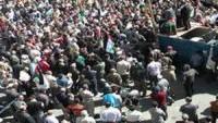 Filistinliler, Siyonist rejimi protesto etti