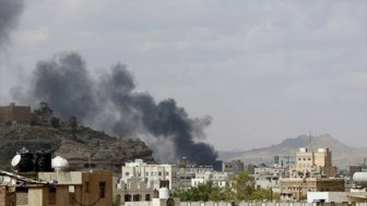 Suudi Arabistan'dan Yemen'e Füzeli Saldırı