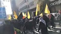 El Halil Kentinde Kudüs'e Sahip Çıkma Çağrısına Onbinlerce Filistinli Lebbeyk Diyerek İşgalci Askerlerle Çatıştı