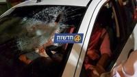 Filistinli Gençler Yahudi Yerleşimcilerin Araçlarını Taşladı