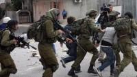 Siyonist İsrail askeri açtığı ateş sonucu bir Filistinli yaralandı