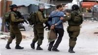 Siyonist İsrail Güçleri Bu Sabah 4 Filistinliyi Tutukladı