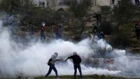 El-Bire'nin Doğusundaki Çatışmalarda Çok Sayıda Filistinli Yaralandı