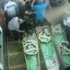 Mescid-i Aksa Eylemi Şehitleri Ummu'l-Fahm Kentinde Toprağa Verildi