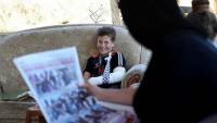 İsrail askerinin gözaltına almaya çalıştığı Filistinli çocuk: Beni yıldıramayacaklar!