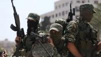 Filistinli Direnişçiler Siyonist İsrail Askerlerine Yaylım Ateşi Açtı