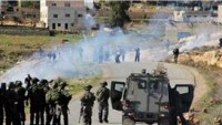 Siyonist İsrail Güçleriyle Filistinli Gençler Arasında Çatışmalar Yaşandı