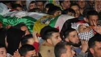 Filistinli Şehit Kasravi Yüzlerce Kişinin Katıldığı Törenle Cenin'de Toprağa Verildi