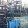Siyonist İsrail Güçlerinin Attığı Bombalar Nablus Hali'nde Yangına Yol Açtı