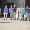 Siyonistler Yine Güvenlik Güçleri Gözetiminde Mescidi Aksa'ya Baskın Düzenledi