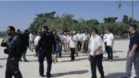 Siyonist Yerleşimciler Bu Sabah Mescid-i Aksa'ya Baskın Düzenledi