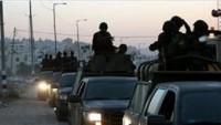 Nablus'ta Filistin Yönetimi Güçleriyle Gençler Arasında Çatışma Devam Ediyor