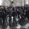 Fransa'da Devam Eden Protesto Gösterilerinde 18 Kişi Yaralandı