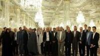 İran'da bulunan Fransız heyeti, Meşhet kentine gitti