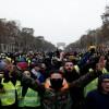 Fransa'da Sarı Yelekliler'in gösterisi dün de devam etti