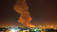 İşgal Ordusu Gazze Şeridi'ne Hava Saldırısı Düzenledi