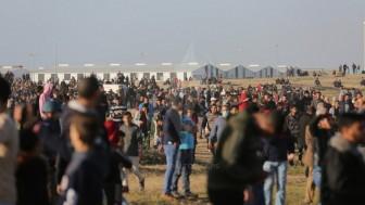 Büyük Dönüş Yürüyüşü'nde 1 Şehid 17 Yaralı