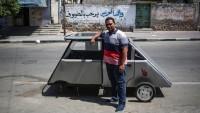 Gazze'deki El-Ezher Üniversitesi, güneş enerjili araç üretti