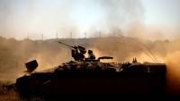 Siyonist İsrail Uçakları Gazze Şeridinin Doğusunu Bombaladı