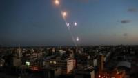 Gazze Şeridini Bombalayan İşgal Güçlerine Direniş Güçlerinin Cevabı Gecikmedi. İsrail Topraklarına 47 Adet Füze Ve Havan Topu Düştü