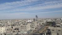 İsrail Uçakları Gazze'nin Refah Kentine Füzeli Saldırı Düzenledi