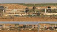 Siyonist İşgalci Askerler Gazze Sınırında 3 Filistinliyi Tutukladı