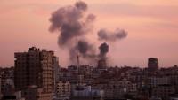 İşgal Güçleri Gazze'de Direniş Hedeflerini Bombaladı
