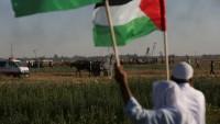 Mescidi Aksayı Savunma İntifadasına Gazze Halkından Destek Geldi: 45 Yaralı