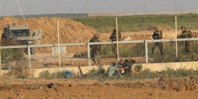 Siyonist İşgalci Güçler Gazze Sınırında 1 Filistinli'yi Şehid Etti