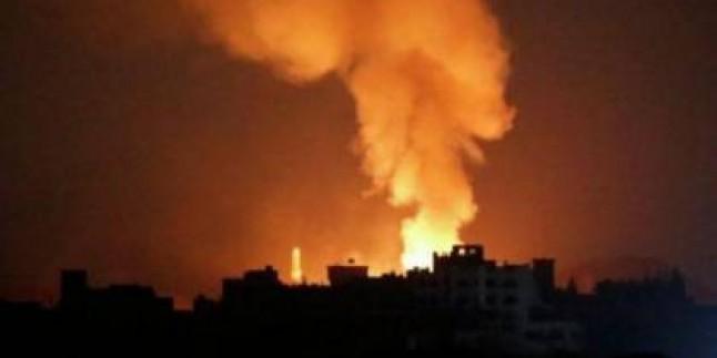 Siyonist İsrail Savaş Uçakları Bu Sabah Gazzeyi Bombaladı