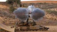 Siyonist İsrail Uçakları Gazzeyi Bombaladı: 2 Yaralı