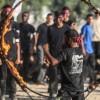 Hamas'ın gençlik kampında mezuniyet töreni yapıldı