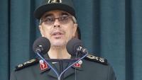 General Muhammed Bakıri: İran Silahlı Kuvvetleri, düşmanların komplosu karşısında susmayacak
