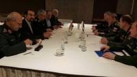 Tümgeneral Bakıri, Rusya Genelkurmay Başkanı'yla görüştü