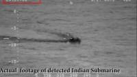 Hint denizaltısı Pakistan donanması tarafından engellendi