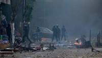 Mısır'ın Giza kentinde patlama: 2 polis yaralı