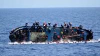 Libya açıklarında göçmenleri taşıyan bot battı: 90 ölü