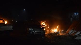 Teröristlerin İşgalindeki Azez ilçesinde meydana gelen bombalı terör saldırısında 16 sivil hayatını kaybetti.