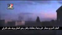 Video: Suriye Ordusu Halep kırsalında Vedia, Hattabat, Katar ve Ayn el Hanş beldelerini teröristlerden temizledi