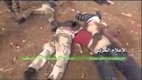 Video: Halep Kırsalında IŞİD Tekfircilerinin Cesetleri