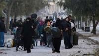 Teröristler Halep halkının kaçışını engelliyor