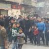 Teröristler, Halep'te sivillerin bölgeyi terk etmesine izin vermiyor